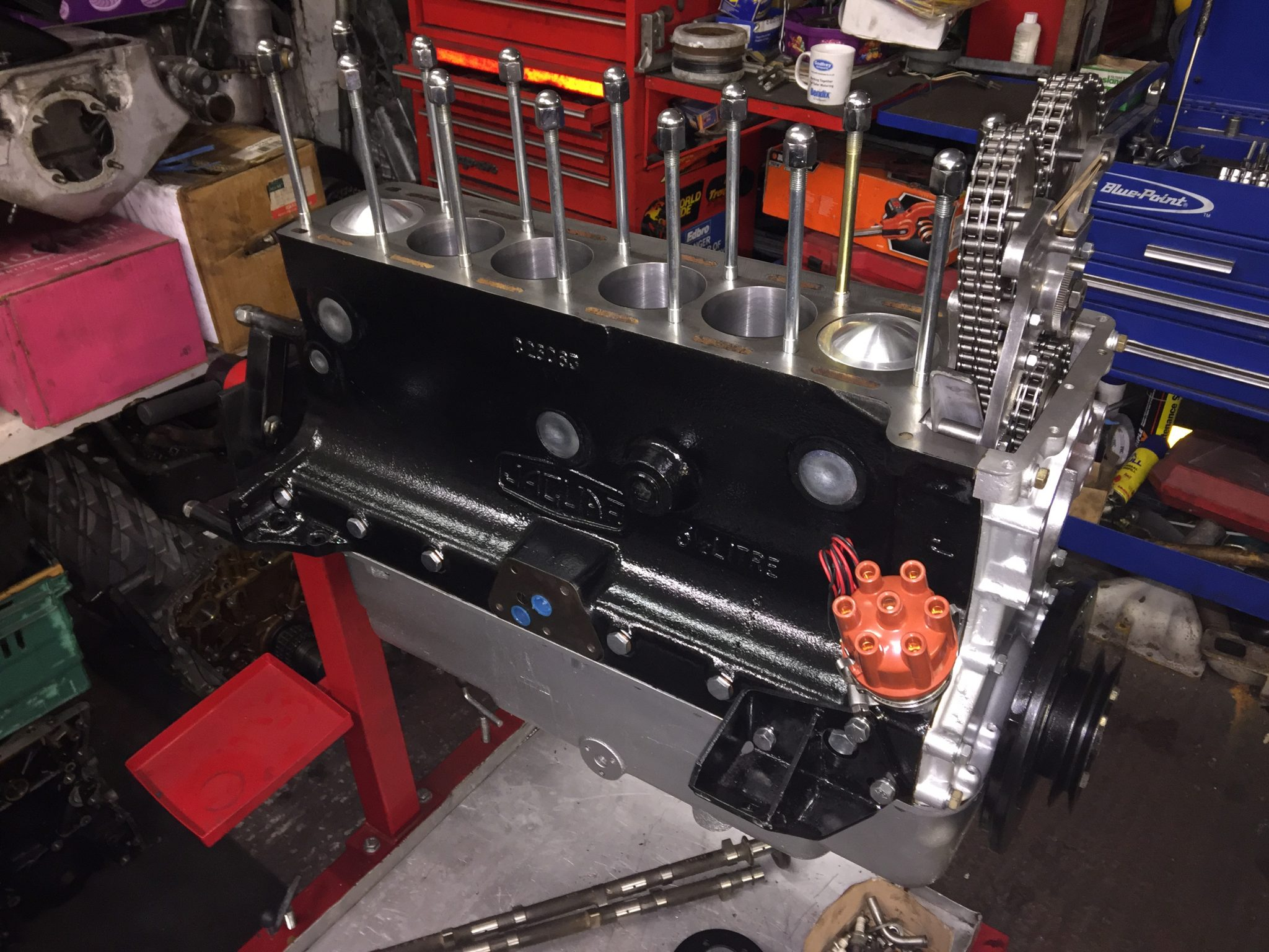 Jaguar Race Engine Services