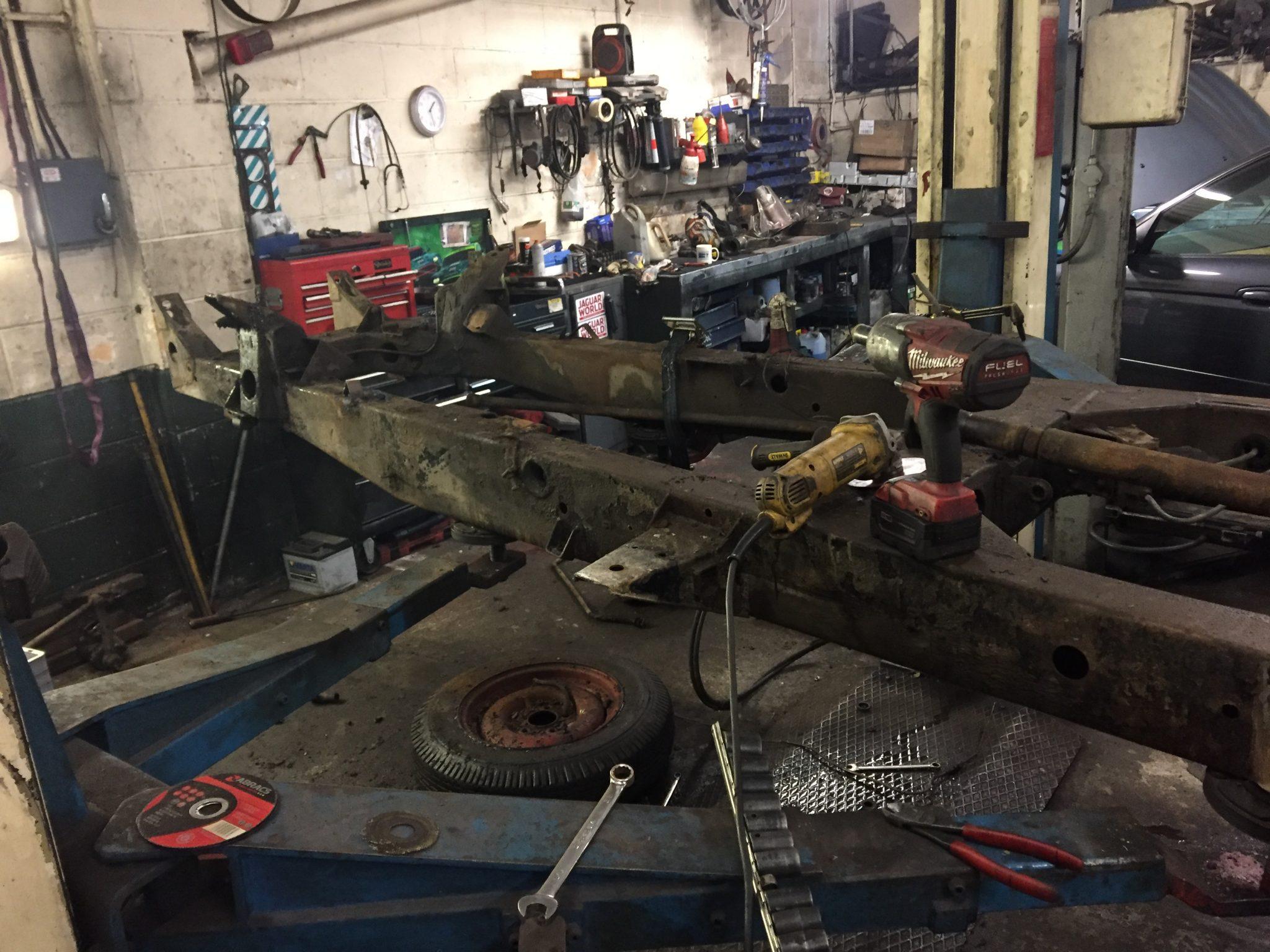 Classic Jaguar XK120 Restoration