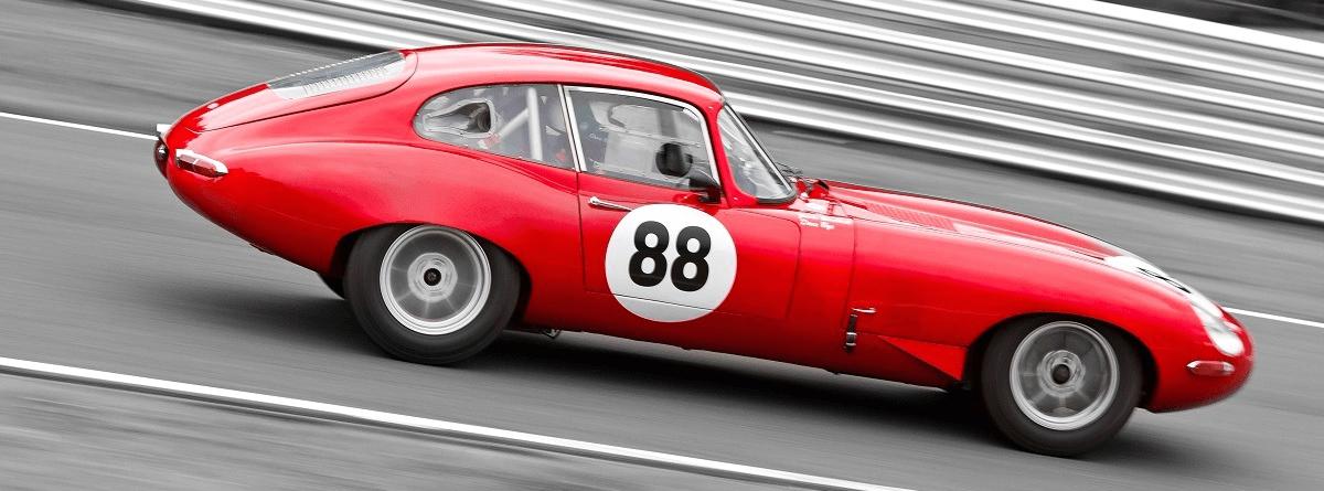 Classic Jaguar Race Preparation