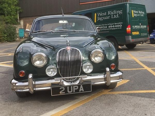Restored Racing MK 2 Jaguar