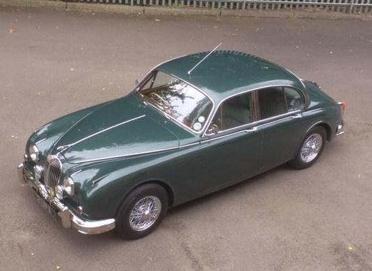 Restored by West Riding - TT Garage's Jaguar MK2