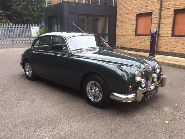 Beautifully restored Mk2 Jaguar