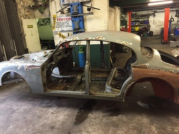 Ex Tourist Trophy garage Mk2 shell