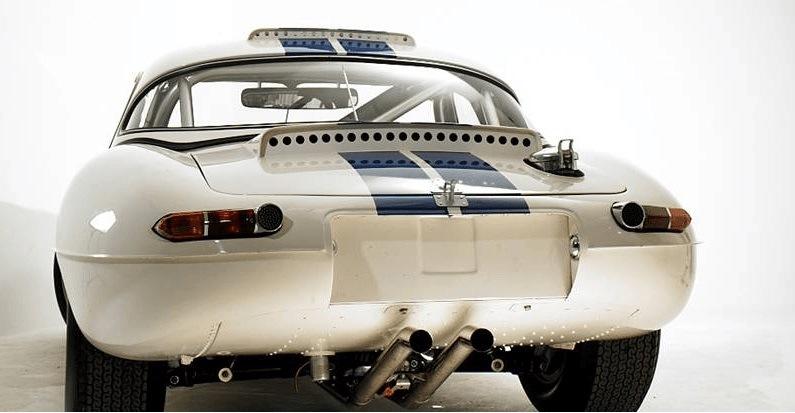 Rear of Lightweight E-Type Roadster