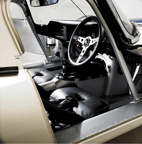 West Riding's Lightweight E-Type Cockpit