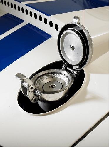 West Riding's Lightweight E-Type Open Fuel Cap
