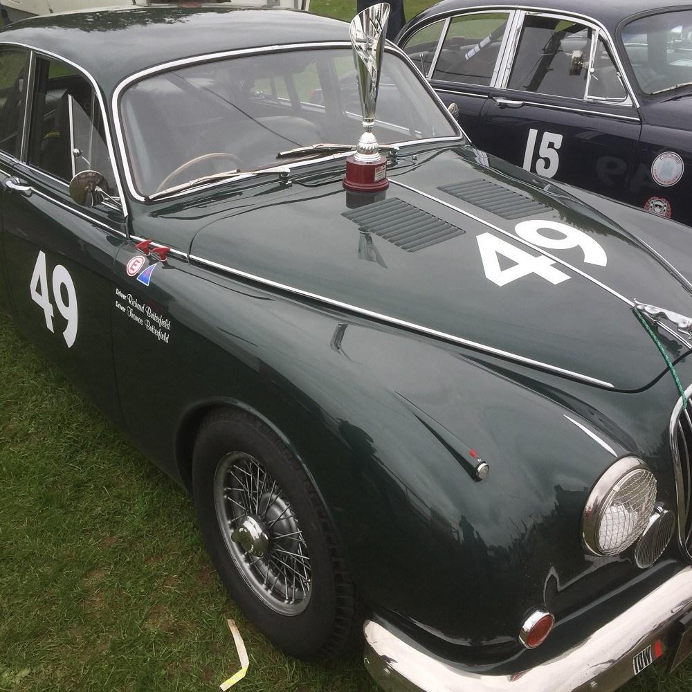 West Riding's Restored Jaguar Mk2 Racer