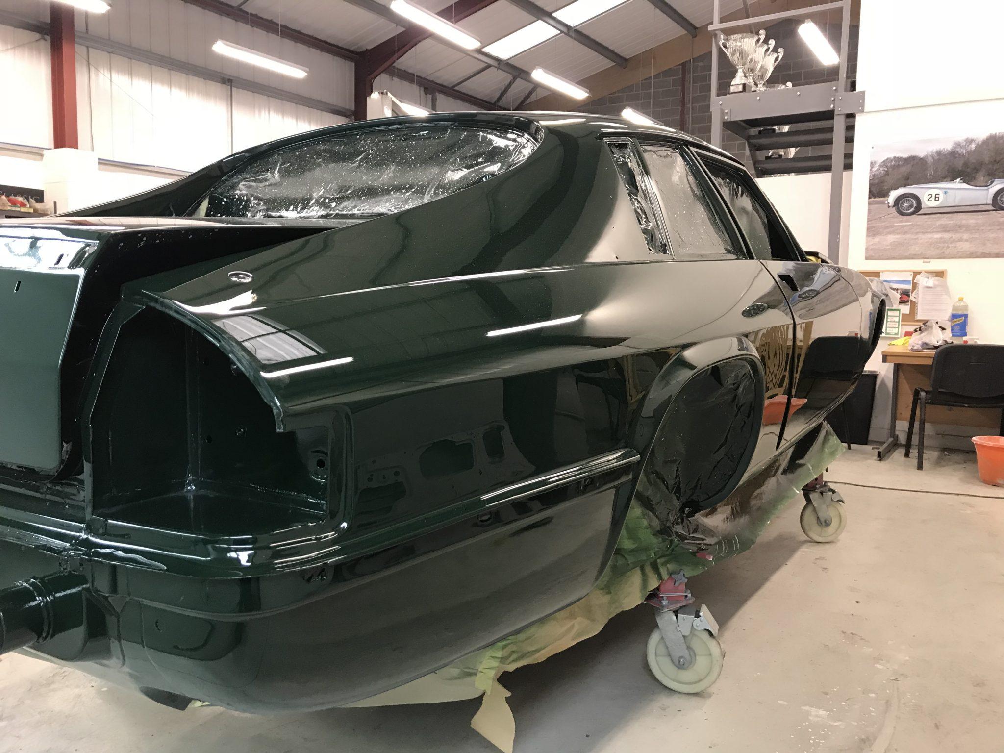 Pre HE XJS Jaguar Restoration